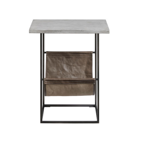 Paradigm Coal 11-Inch Chair Side Table