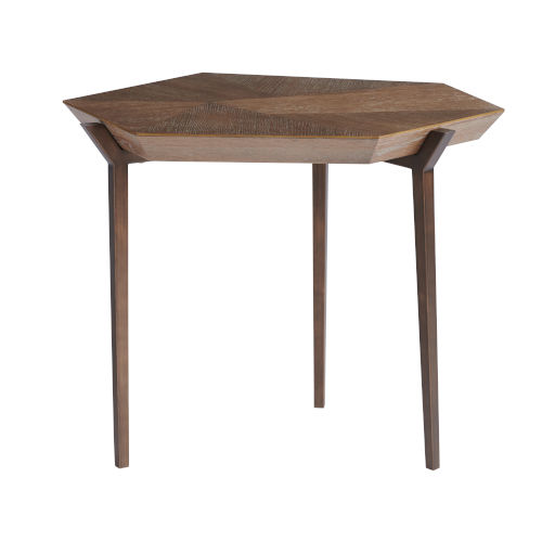 Divergence Charcoal 23-Inch End Table