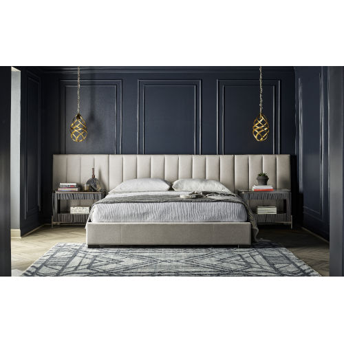 Nina Magon Sunday Cafe Upholstery Queen Bed With Wall Panel