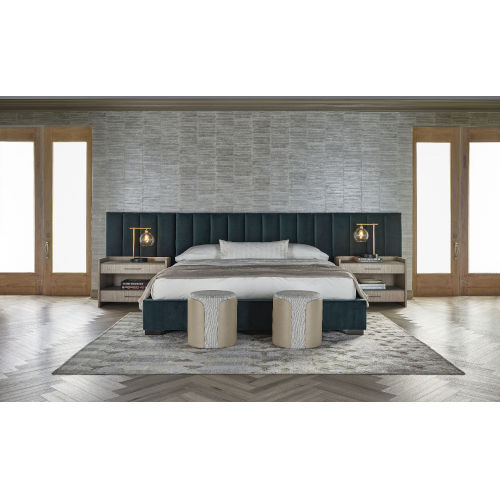 Nina Magon Calypso Lake Bed with Wall Panel