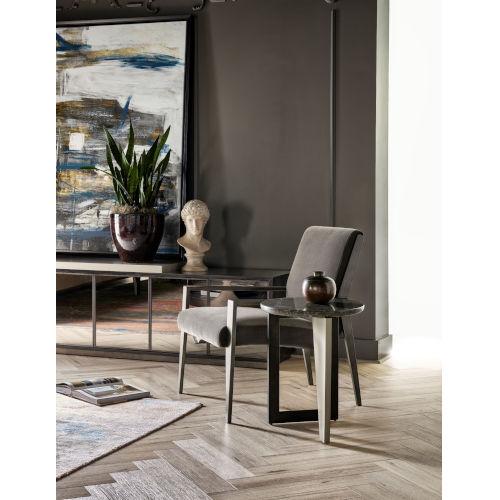 Nina Magon Talbott Smoke Accent Chair