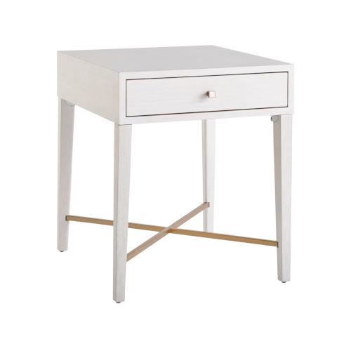 Miranda Kerr Love Joy Bliss Alabaster and Soft Gold End Table