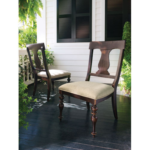 Brown Side Chair- Set of Two