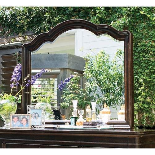 Tobacco Decorative Landscape Mirror