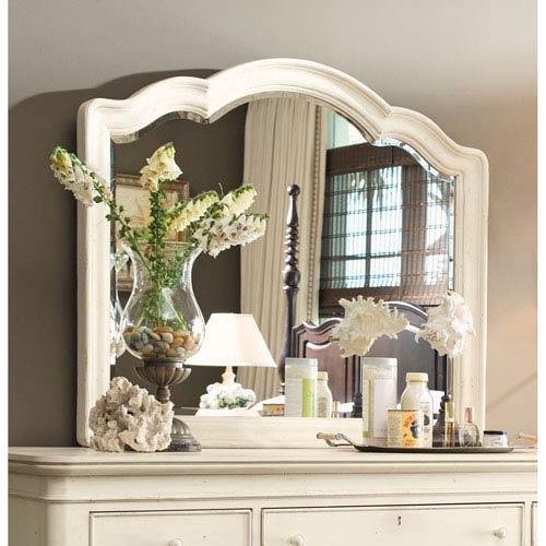 Linen Decorative Landscape Mirror