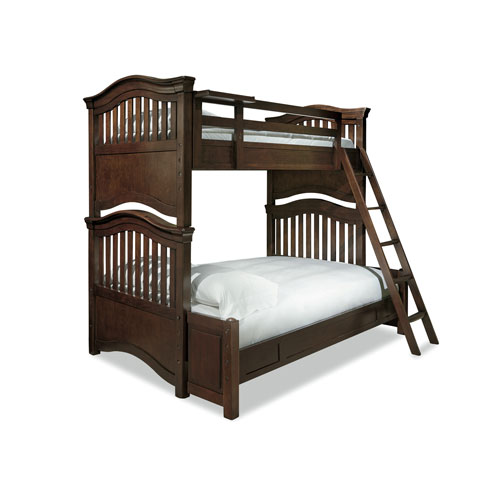 Classics 4.0 Classic Cherry Twin over Full Bunk Bed
