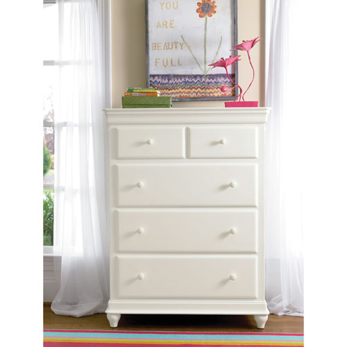 Classics 4.0 Summer White Drawer Chest