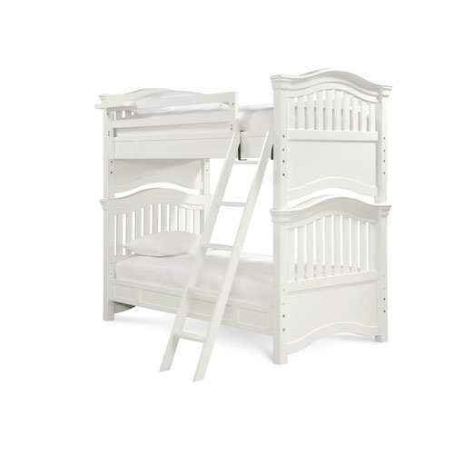 Classics 4.0 Summer White Twin Bunk Bed