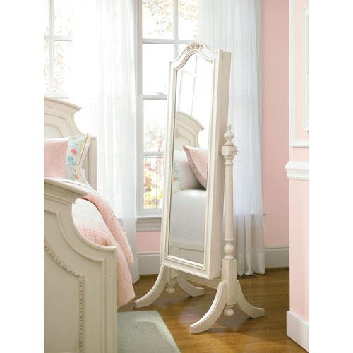 Gabriella Lace Cheval Storage Mirror