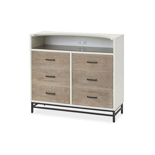 Smartstuff Furniture My Room Grey and White Dressing Chest