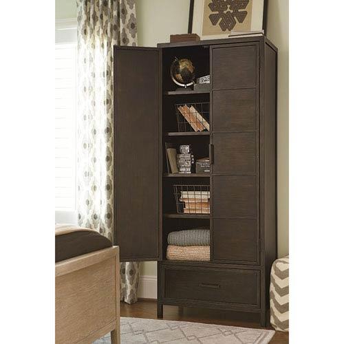 Smartstuff Furniture My Room Grey Varsity Metal Cabinet