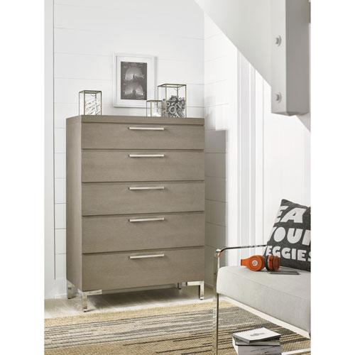 Smartstuff Furniture Axis Symmetry Oak Drawer Chest