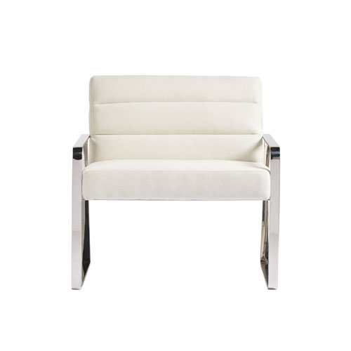 Axis Symmetry Stainless Steel Chair