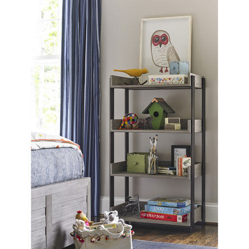 Scrimmage Greystone Bookcase