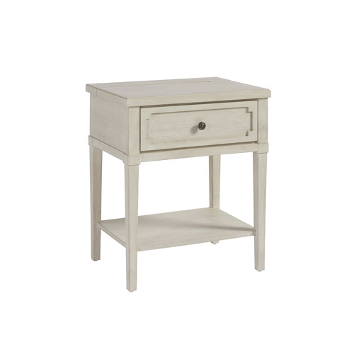Smartstuff Furniture Serendipity Alabaster Night Table