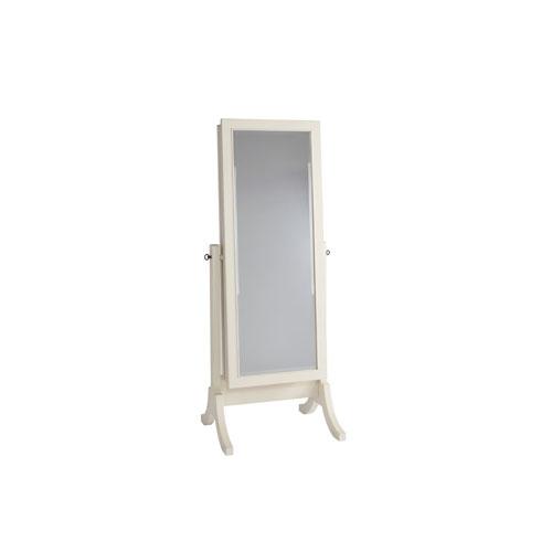 Summer Hill Cheval Storage Mirror in Cotton