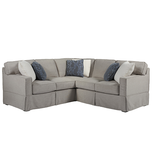Escape Gray Chatham Left Arm Loveseat with Right Arm Corner