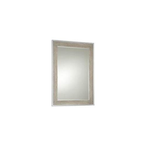 Gray/Parchment Mirror