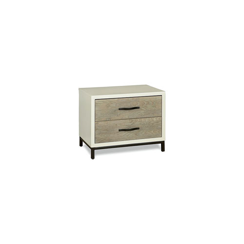 Gray/Parchment Nightstand