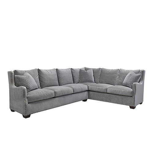 Universal Furniture Curated Gray Connor Sectional
