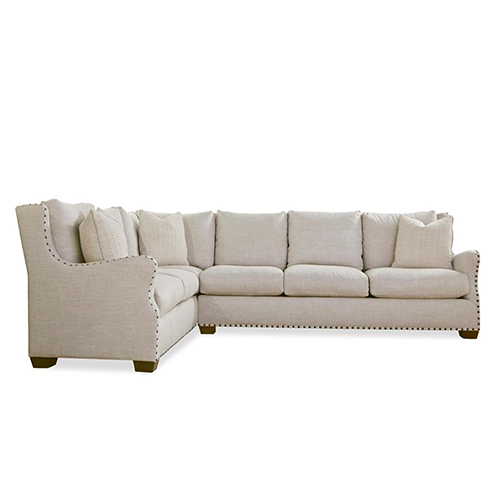 Curated Linen Connor Sectional