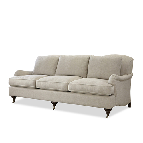 Churchill Belgian Linen Sofa