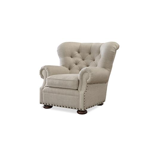 Universal Furniture Maxwell Beige Belgian Linen Ottoman