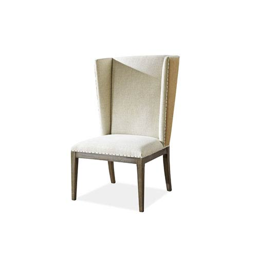 Playlist Brown Host Side Chair