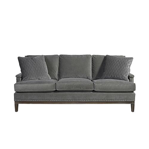 Universal Furniture Curated Gray Prescott Sofa