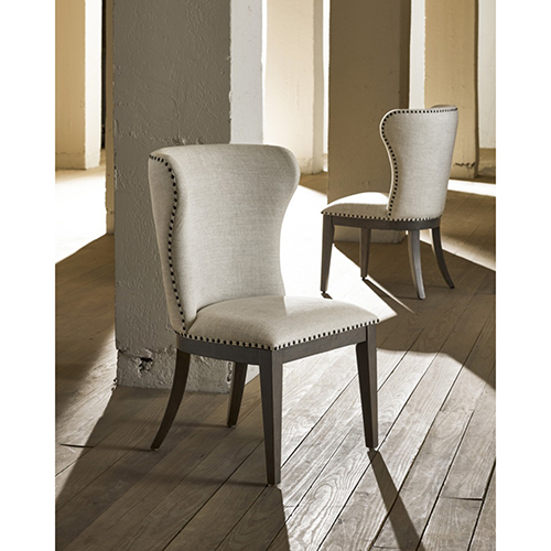Curated Graphite Baldwin Chair- Set of Two