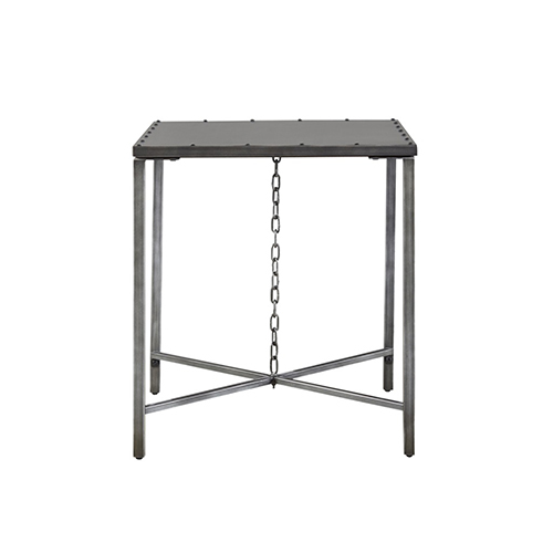 Curated Greystone Eliston Metal End Table