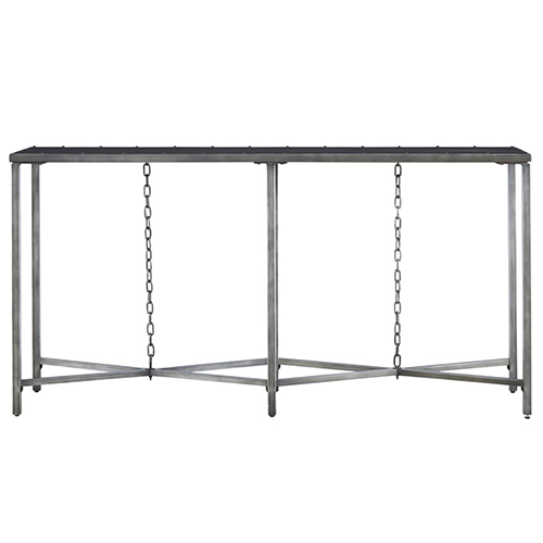 Universal Furniture Curated Greystone Eliston Console Table