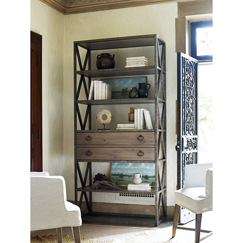 Universal Furniture Authenticity Two Drawer Etagere