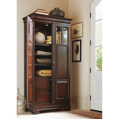 Universal Furniture Classic Cherry Tall Cabinet