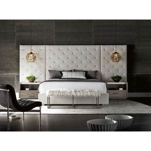 Universal Furniture Brando Complete King Bed with Panels