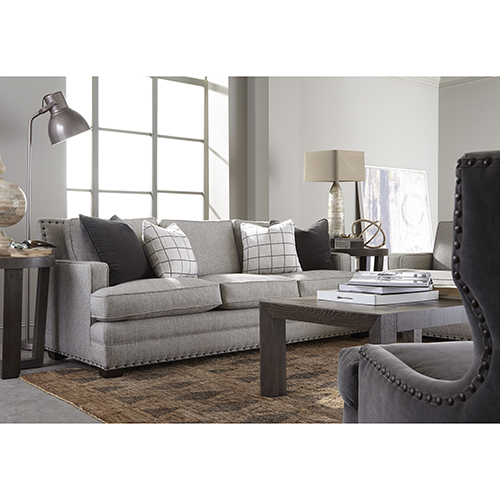 Universal Furniture Curated Gray Riley Sofa 679501 619 Bellacor