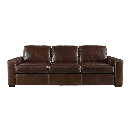 Universal Furniture Curated Brown Oliver Three Seat Sofa