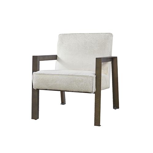 Curated Brown Garrett Accent Chair