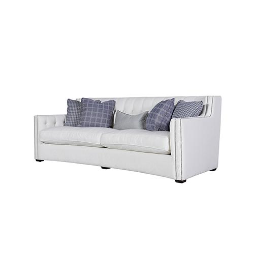 Universal Furniture Curated White Tessa Sofa