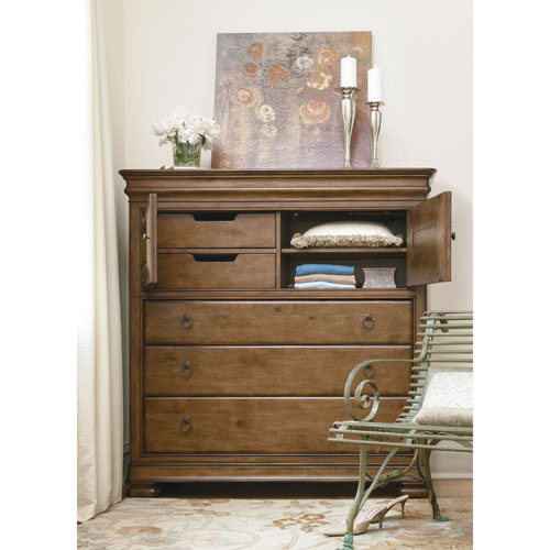 Universal Furniture Cognac Dressing Chest