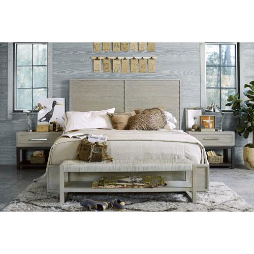 Universal Furniture Zephyr Solana King Complete Bed