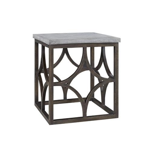 Universal Furniture Postscript Foulard End Table