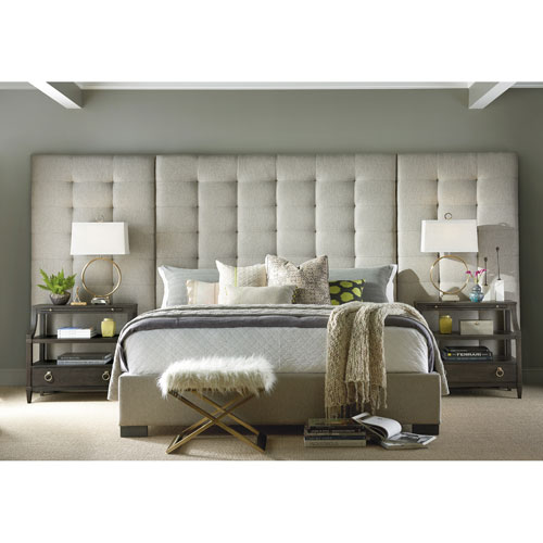 Soliloquy Cocoa Camille Queen Complete Bed with Panels