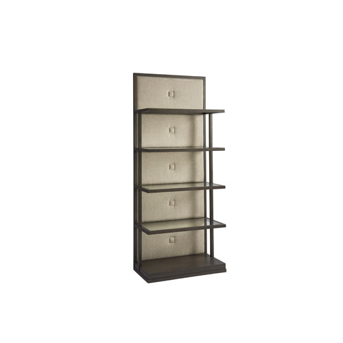 Soliloquy Cocoa Button Back Etagere