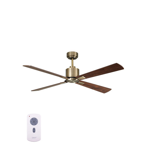 Lucci Air Airfusion Climate Antique Brass 52-Inch DC Ceiling Fan
