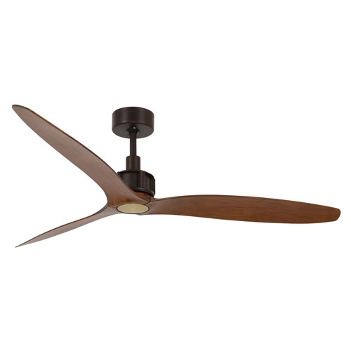 Lucci Air Viceroy Oil Rubbed Brass 52-Inch DC Ceiling Fan