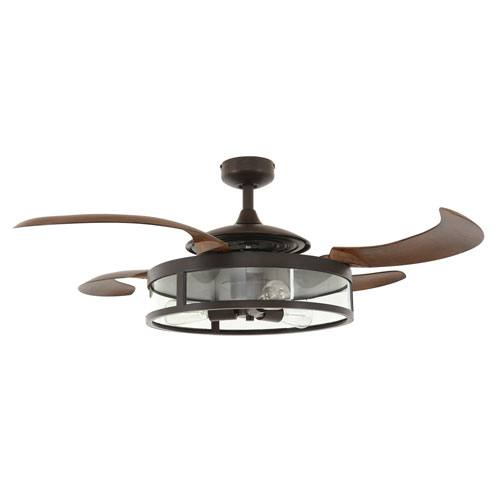 Acrylic ceiling fan bellacor beacon lighting fanaway classic oil rubbed brass 48 inch three light ac ceiling fan aloadofball Image collections
