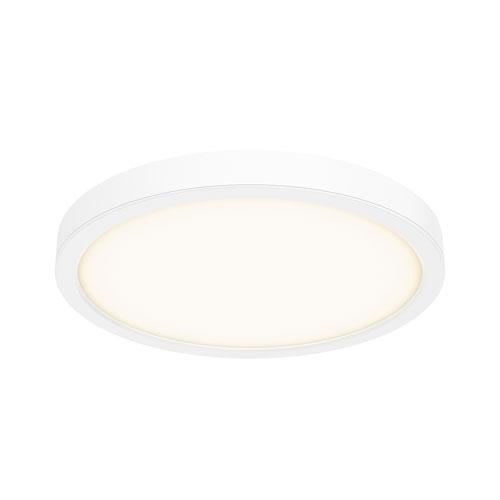 White LED 1600 Lumen Flush Mount