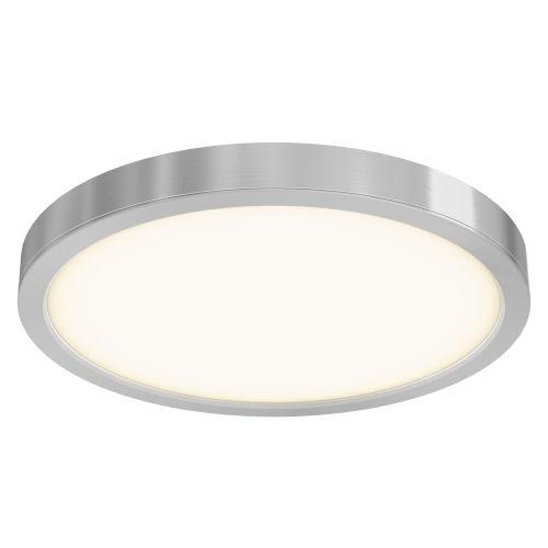 Satin Nickel LED Flush Mount