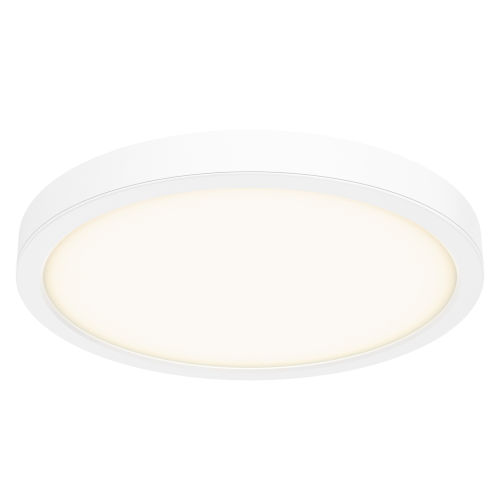 White 18-Inch LED Flush Mount